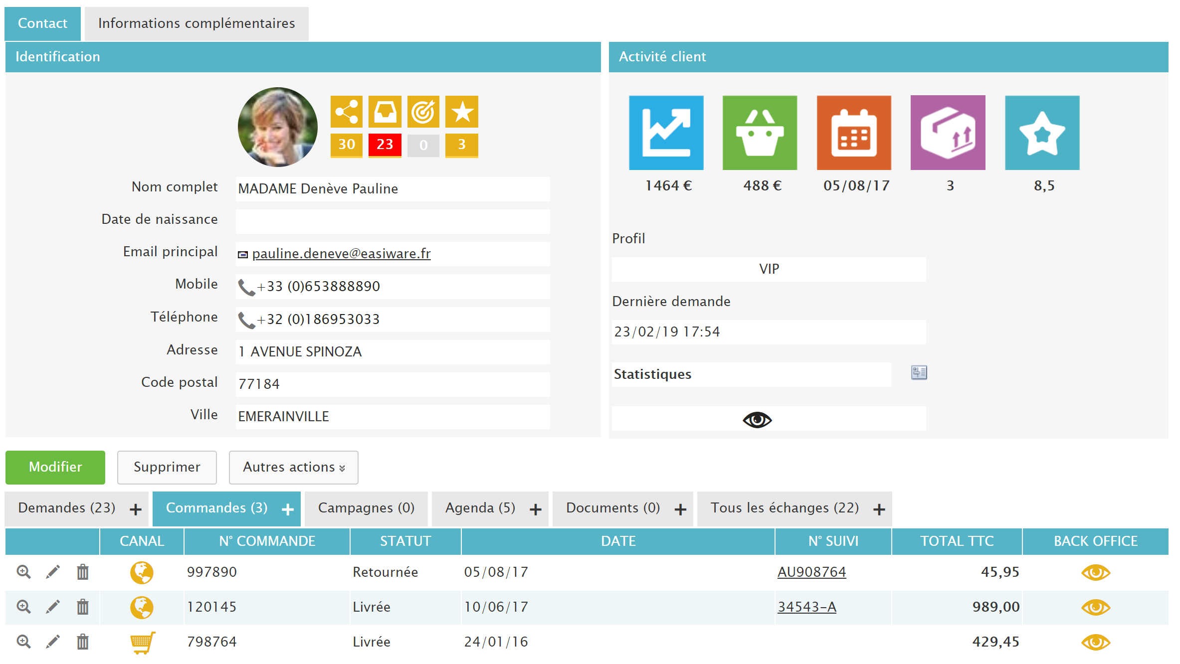 easiware plateforme relation client omnicanale