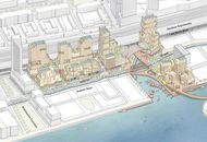 Aperçu du quartier que Google aurait aimé construire à Toronto.