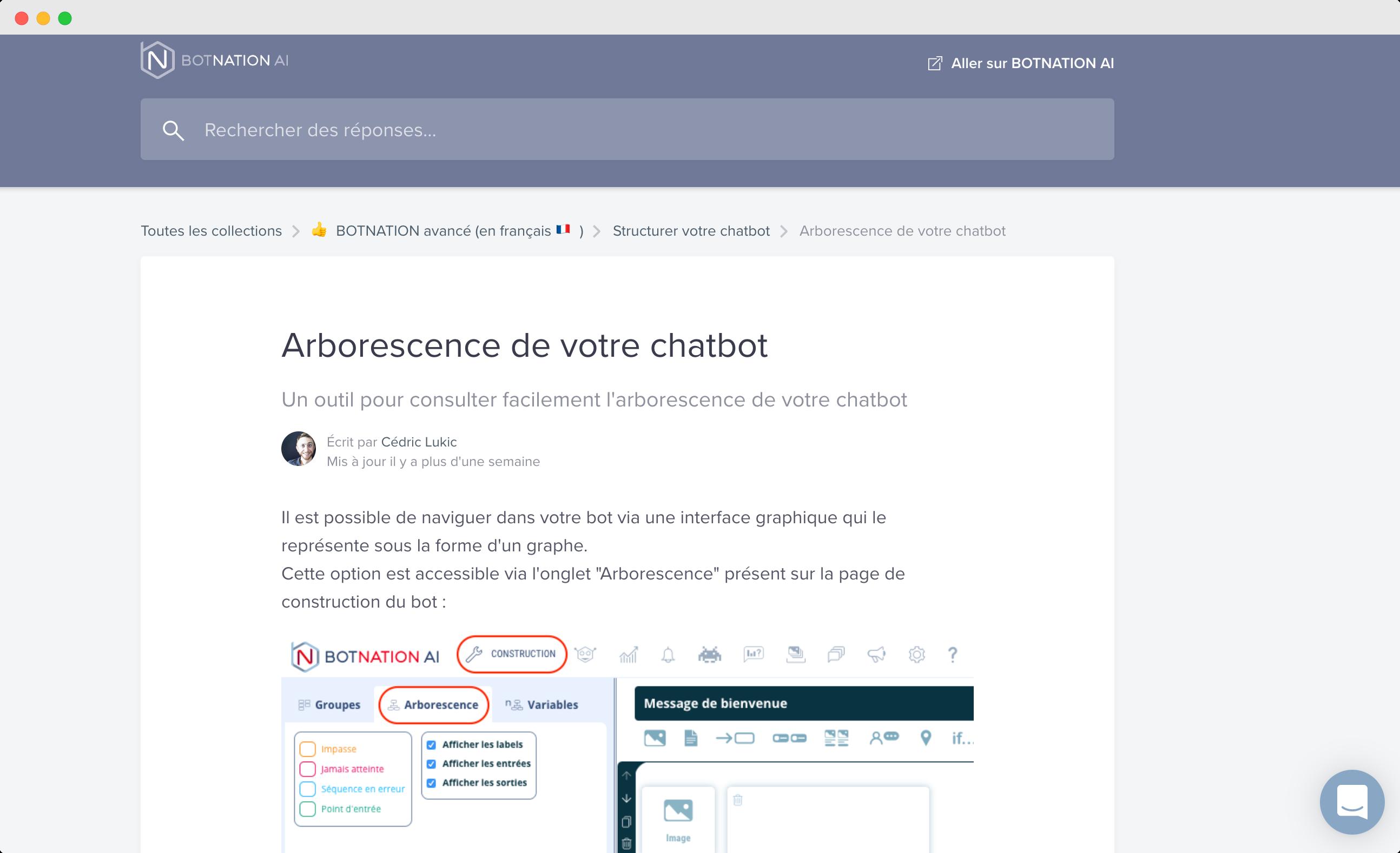 tutoriels chatbot