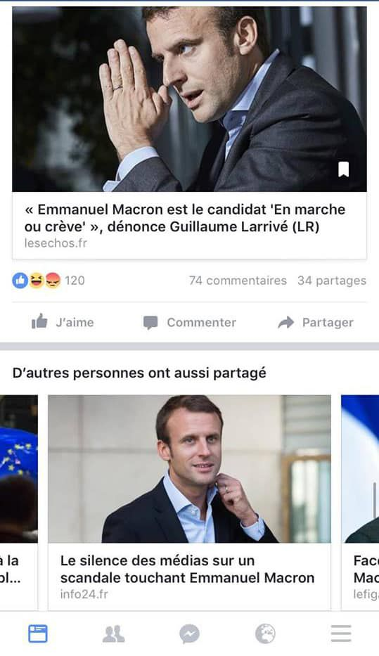 fakes news macron Siecle Digital