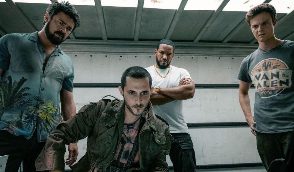 protagonistes de la série The Boys