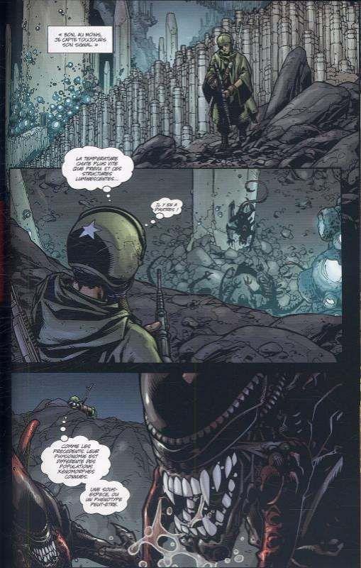 comics de la licence Alien
