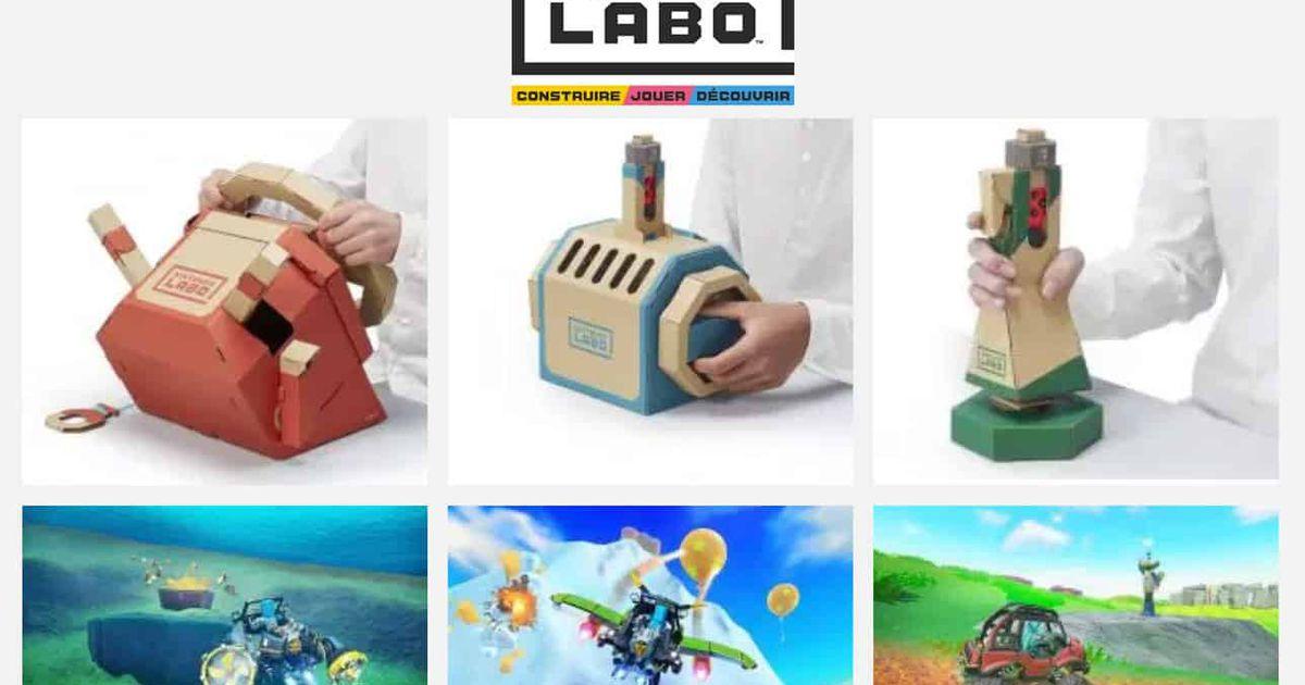 Un kit véhicule Nintendo Labo débarque en septembre