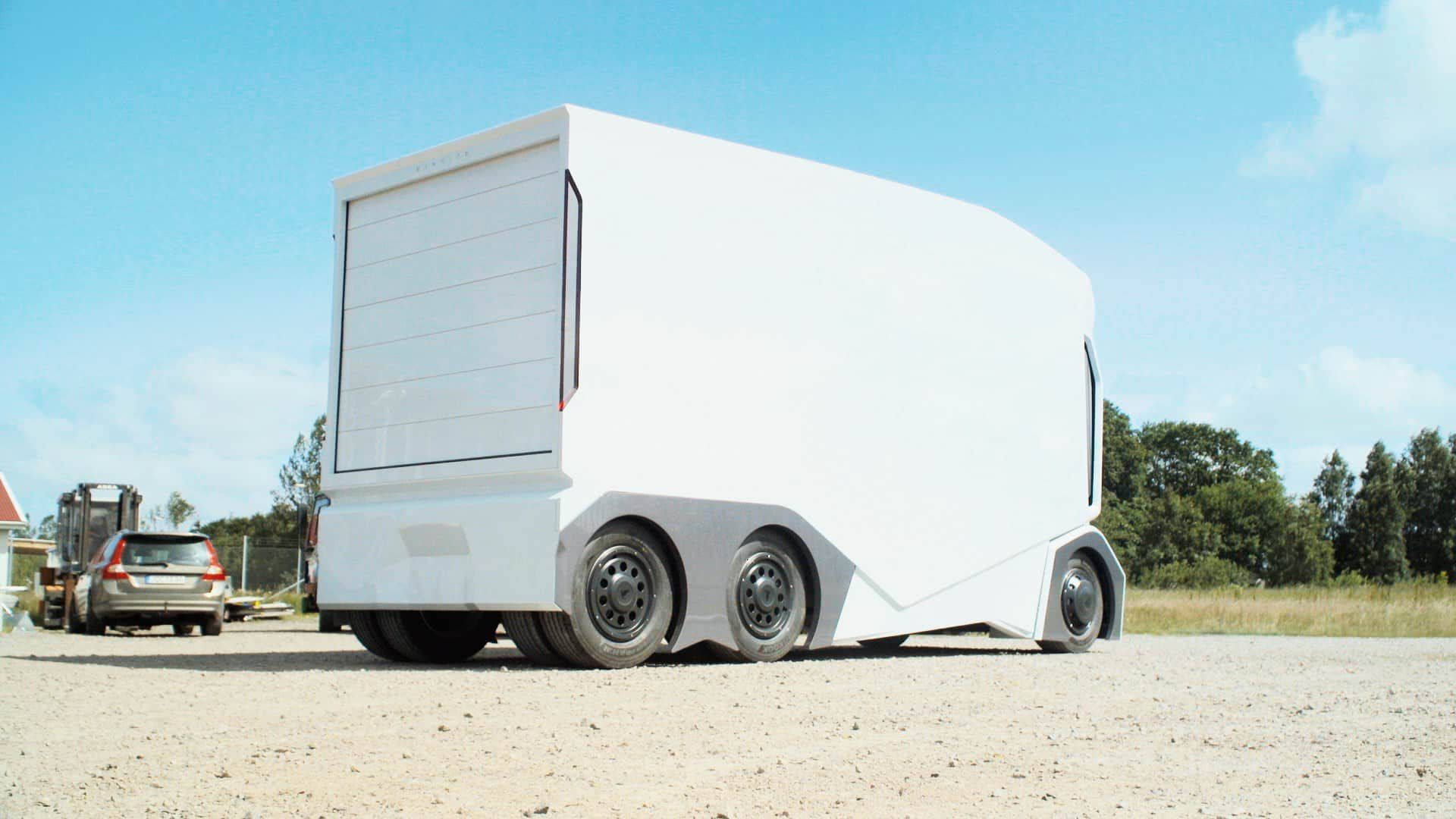 Camion T-Pod Einride