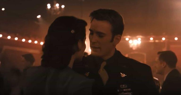Peggy Carter danse avec Captain America