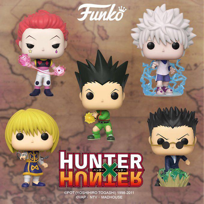 figurines funko pop hunter x hunter