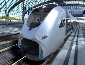 Un modélidation du futur Mireo Plus H par Siemens Mobility.