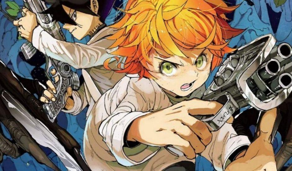 the promised neverland coffrets kaze manga