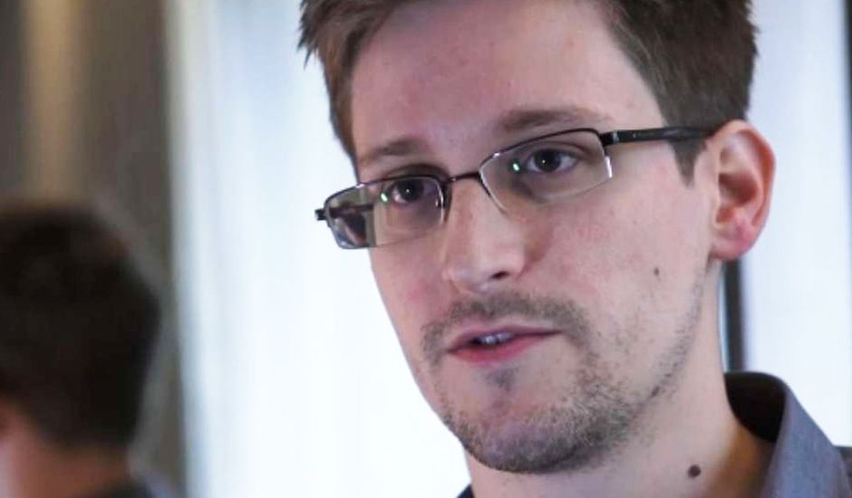 Portait de Edward Snowden