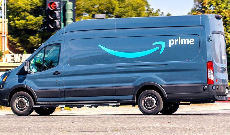 Camion amazon prime