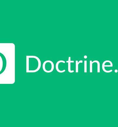 Le logo de la plateforme Doctrine