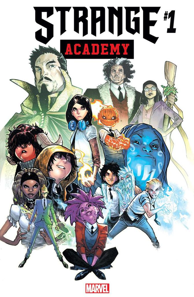 couverture strange academy marvel comics 4 mars 2020