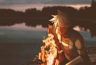 Fond d'écran de Kakashi par HermesNDA_ sur Twitter