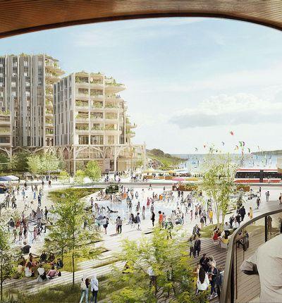 Les plans d'Alphabet par Sidewalk Labs ne séduisent pas Toronto.