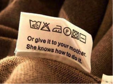 """Etiquette """"or give it to your mother"""""""