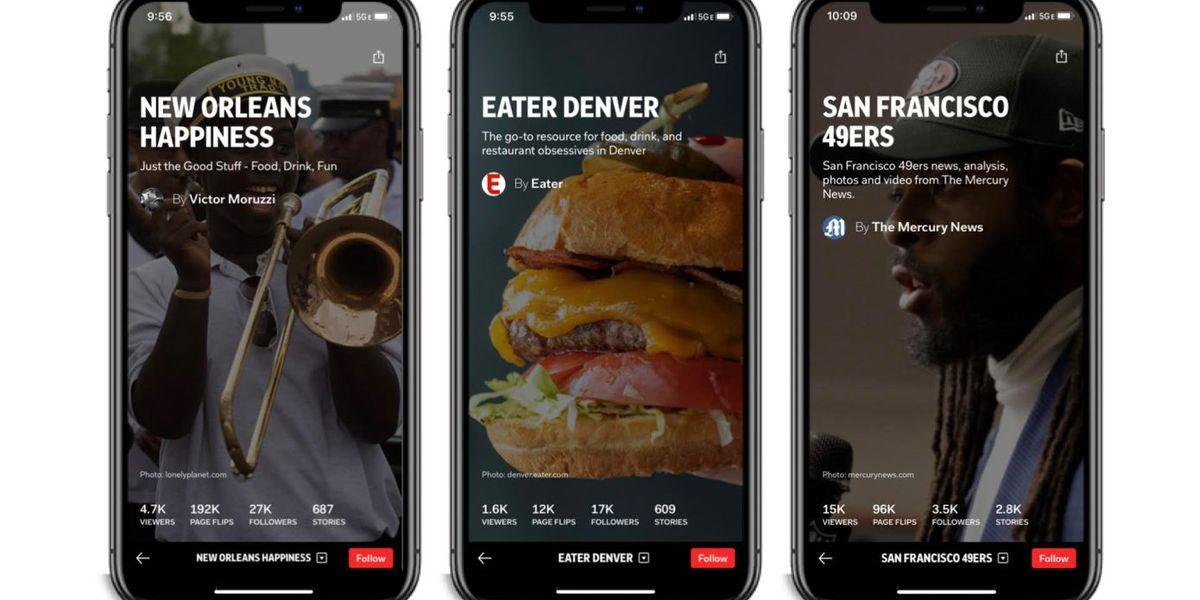 Flipboard : une nouvelle fonctionnalité pour découvrir les news locales