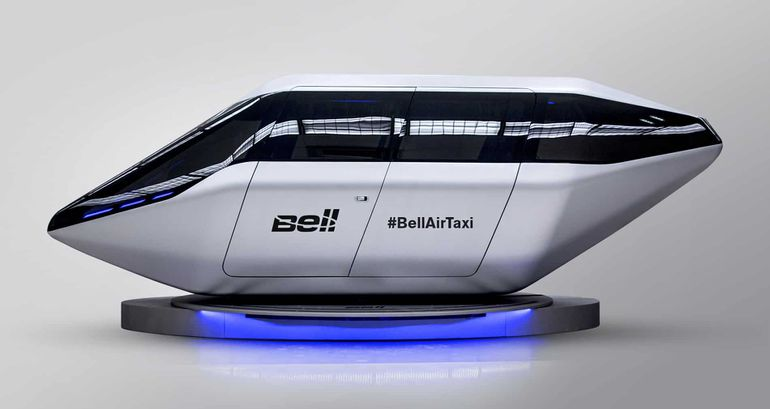 Hélicoptère taxi de Bell