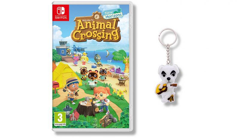 animal crossing new horizons cadeau precommande argos