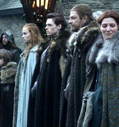 Des images de la maison Stark sur le tournage du préquel de GOT
