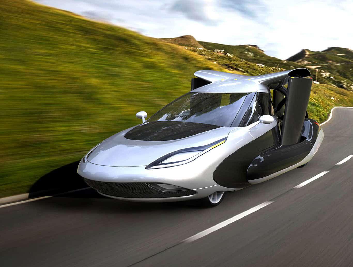 voitures volantes : modèle de la startup Terrafugia