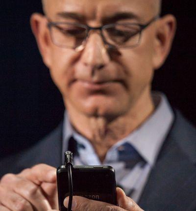 Jeff Bezos et le prince héritier saoudien.