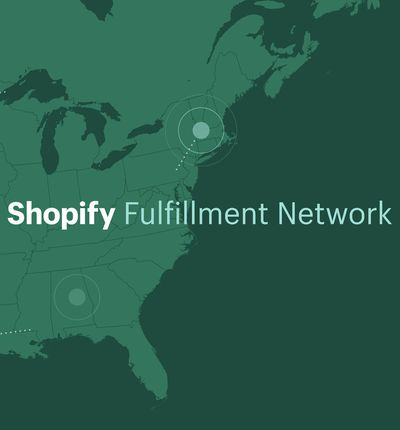 Illustration du Shopify Fulfillment Network.