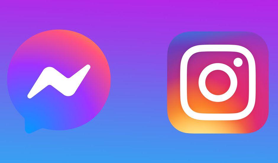 Certaines fonctions de Messenger et d'Instagram temporairement désactivées — Facebook