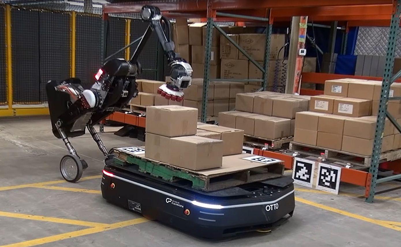 Le robot Handle de Boston Dynamics