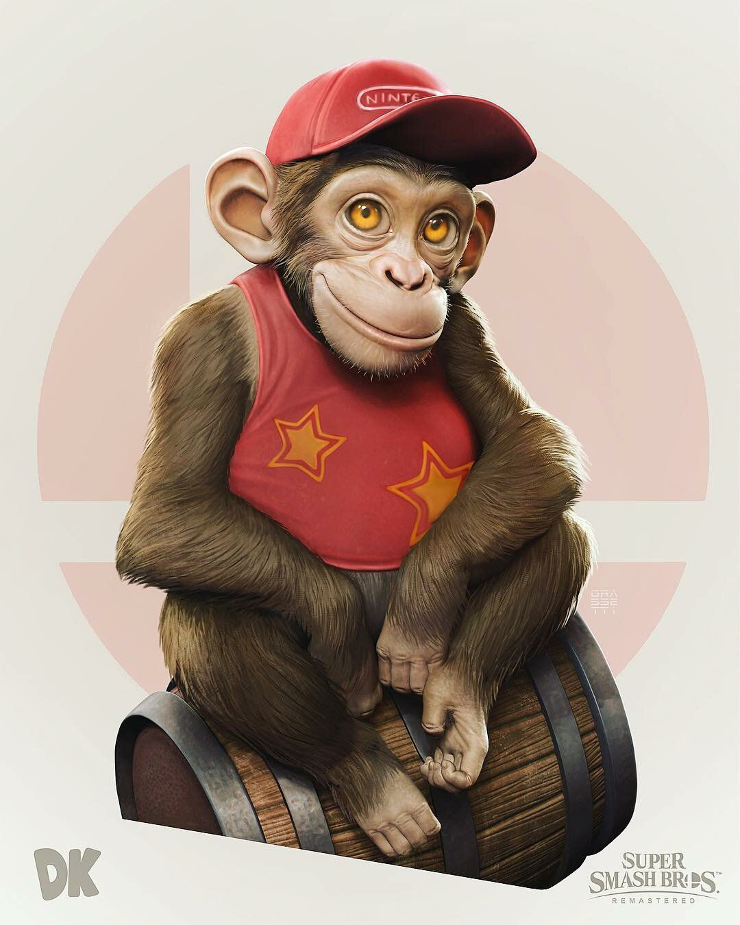 artworks diddy kong
