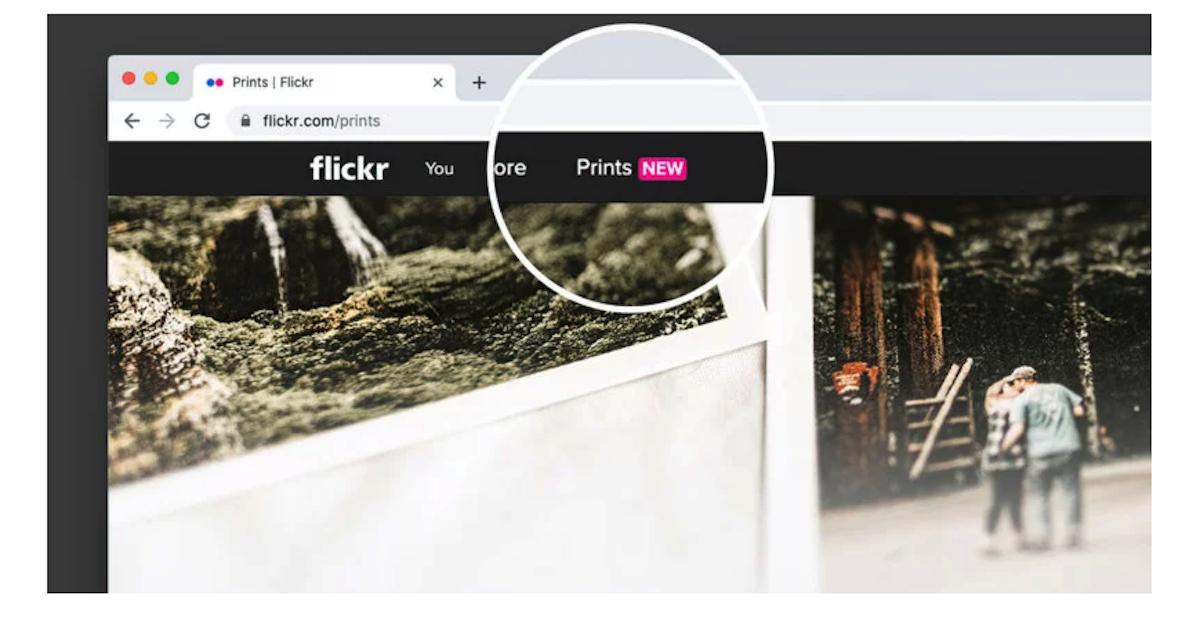 Imprimer ses directement sur Flickr