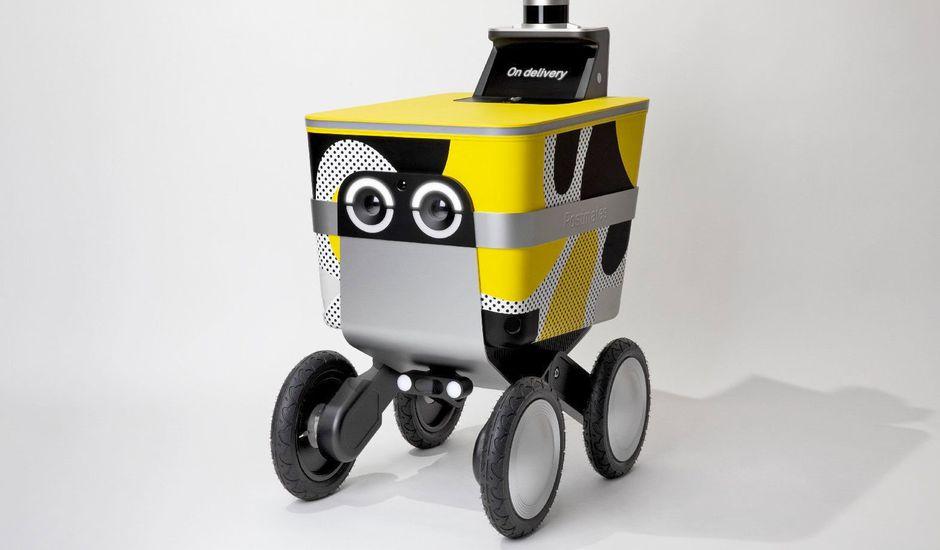 PostMates vient de présenter un robot autonome capable de livrer des produits au domicile des clients