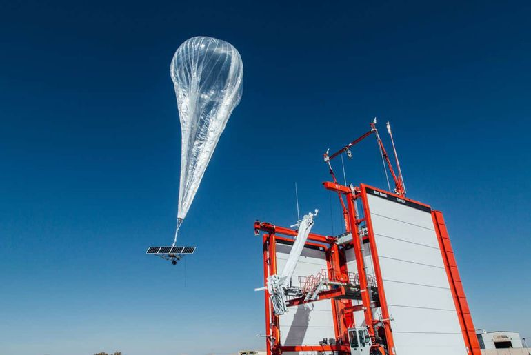 Loon Google ballon Kenya
