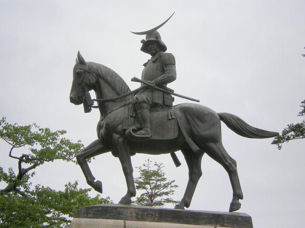 Date Masamune, héros de la série Age of Samuraï