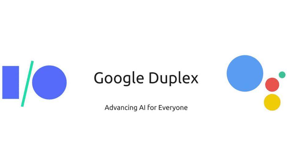 Le logo de l'outil Google Duplex.