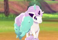 ponyta galar exclusivite pokemon bouclier