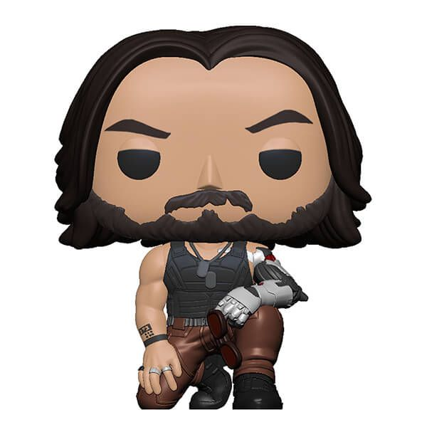 funko pop johnny silverhand cyberpunk 2077 keanu reeves