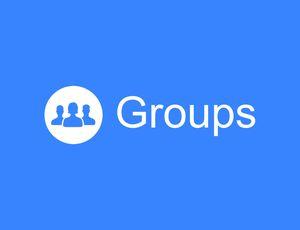 logo des groupes Facebook