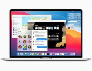 Présentation du redesign macOS Big Sur