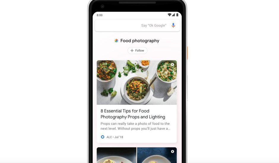 Google lance Discover pour renforcer l'expérience de consommation d'actualités et de contenus