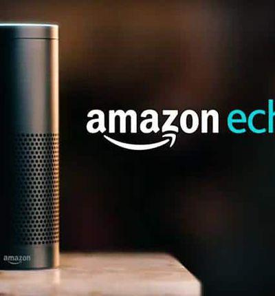 Image de l'enceinte Amazon Echo disposant de l'assistant connecté Alexa. La popularité des enceintes Amazon a entraîné un crash à Noël