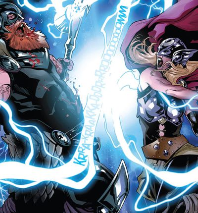 Il y aura bien 2 Thor dans Thor : Love and Thunder