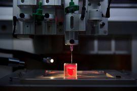 L'impression d'un cœur 3D pourrait révolutionner la médecine.