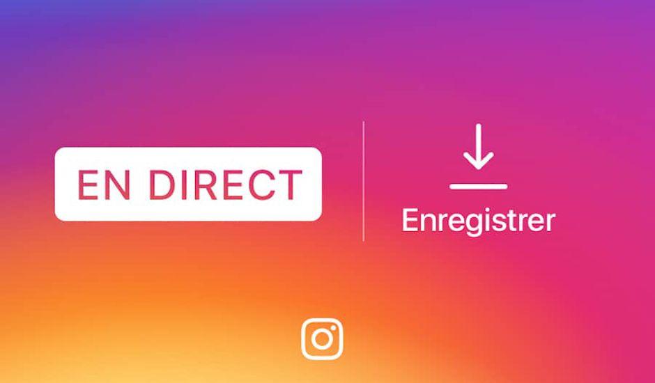 enregistrer live instagram