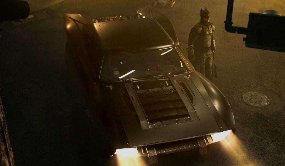 The Batman tournage
