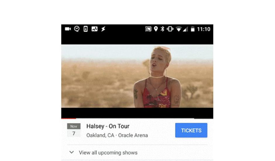 youtube teste la vente de billets de concert