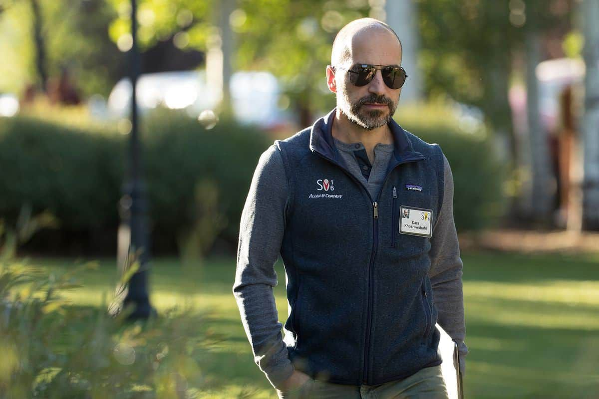 CEO Uber Dara Khosrowshahi
