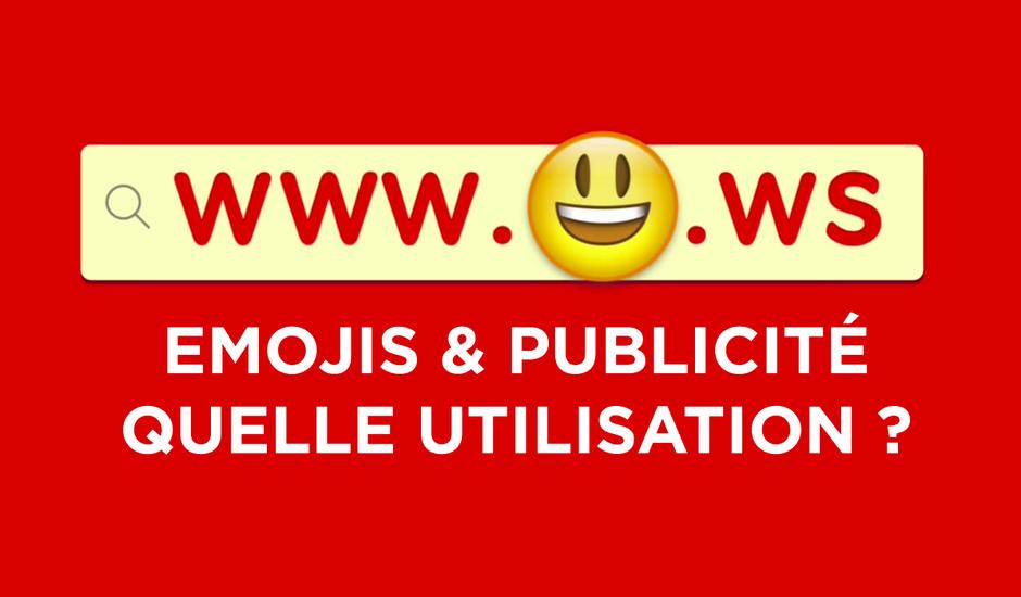emojis et publicité utilisation