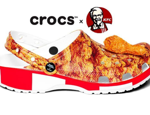 une collaboration entre crocs et kfc arrive !