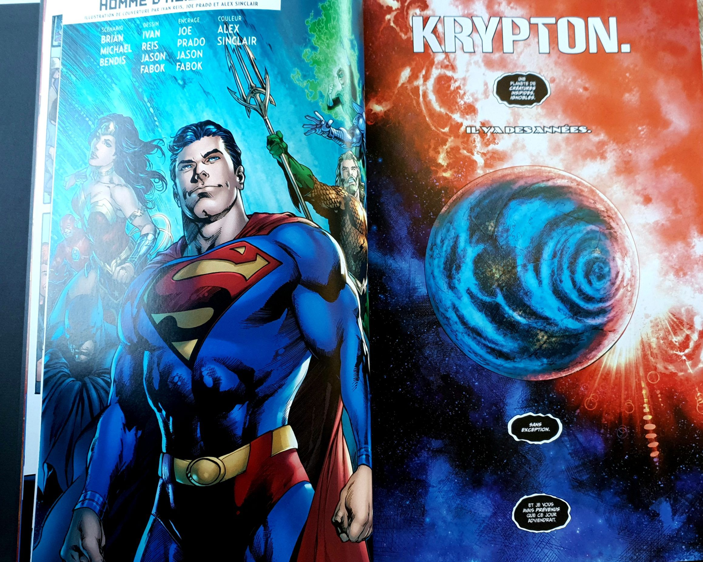 Clark Kent : Superman, Tome 0 critique