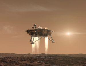 La NASA à quelques jours de l'atterrissage de sa sonde InSight sur Mars